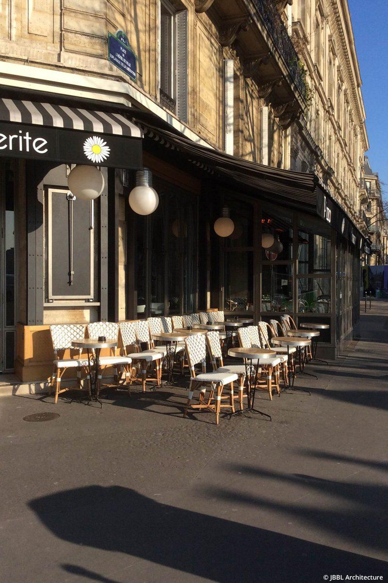 © JBBL Architecture – Bistrot Marguerite - Paris