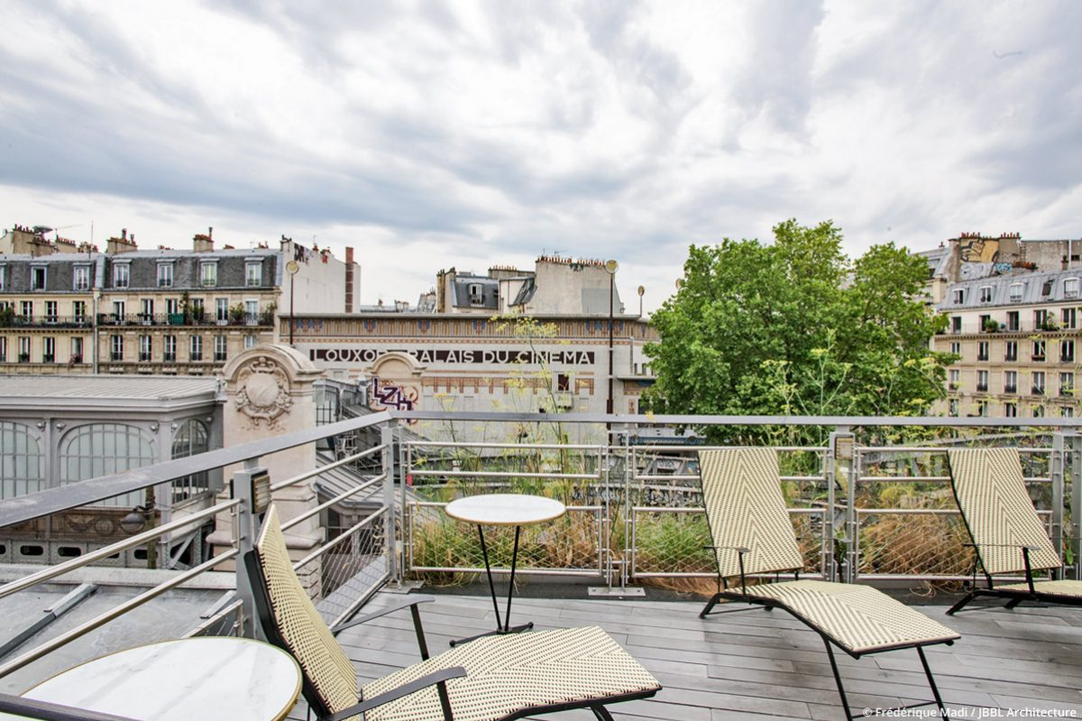 © JBBL Architecture - Brasserie Barbès - Paris