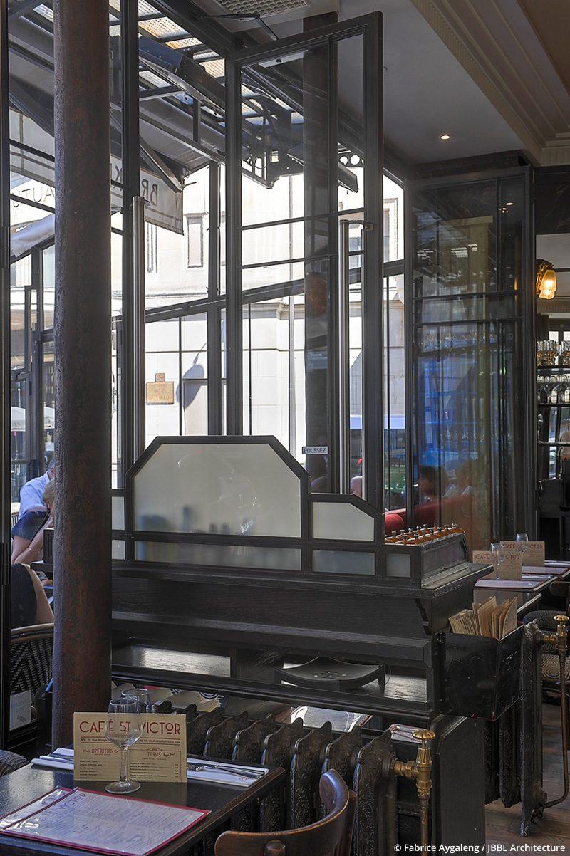 © JBBL Architecture – Café Saint Victor - Paris